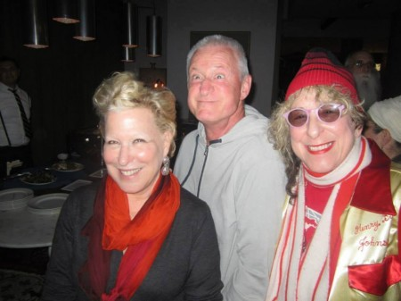 Bette and Martin with songwriter Aillie Willis