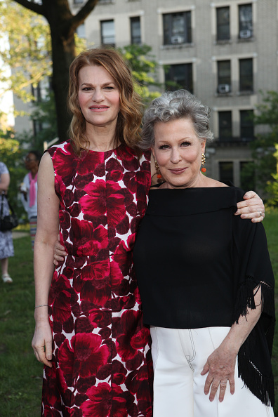 NEW YORK, NY - JUNE 01: Sandra Bernhard and Bette Midler attend 2016 New York Restoration Project's Spring Picnic at Morris-Jumel Mansion on June 1, 2016 in New York City. (Photo by Steve Zak Photography/FilmMagic)