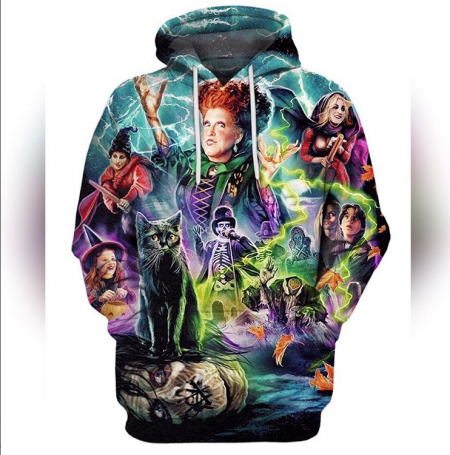 "Bette Midler: Pullover ""Hocus Pocus"" Hoodies For Sale From Icarus"