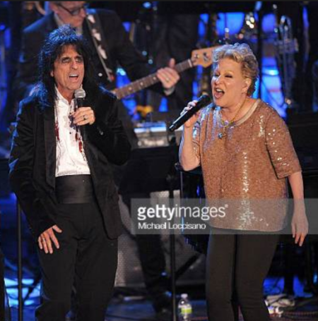 Alice Cooper On Bette Midler 1973