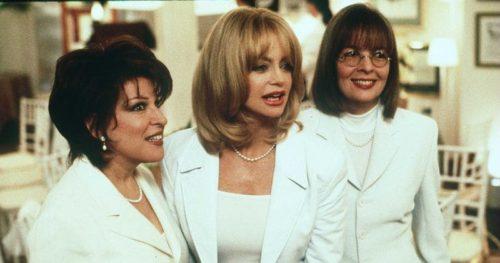 Bette Midler, Goldie Hawn, and Diane Keaton