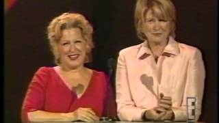 Video: 1998 - American Fashion Awards - Bette Midler with Martha Stewart