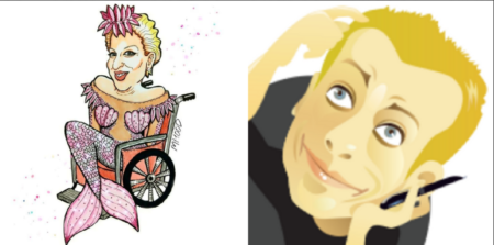 Caricature, Bette Midler, Mister D