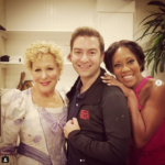 Photo: Bette Midler Backstage At Hello Dolly! With actress Regina King and ?