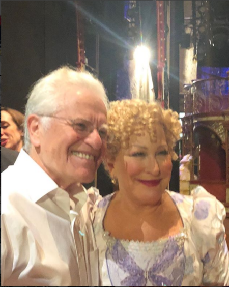Bette Midler and the last performance of Hello Dolly!