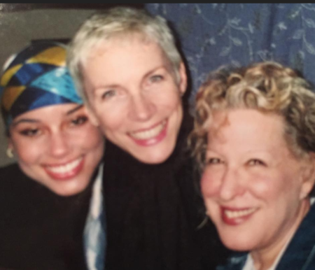 Photo: Ain't This Iconic? Alicia Keys, Annie Lennox, and Bette Midler circa early 2000's i believe it was for a tech festival about improvements in digital film-making, and i could be wrong...LOL