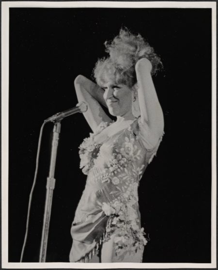 Photo: Star Spangled Night for Rights, 1977 Sept. 8 -  Bette Midler