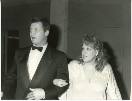 Photo: Bette Midler & Martin at the American Comedy Awards - 1988 - Bette won a handful that night