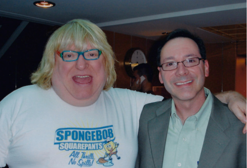 Bruce Vilanch and Todd Sussman, 2007