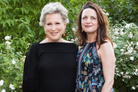 Bette Midler and Executive Director Deborah Marton
