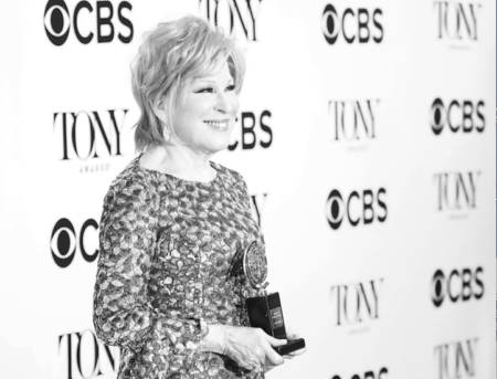 Bette Midler at the Tony's