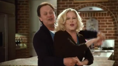 "Bette Midler and Billy Crystal in ""Parental Guidance"""