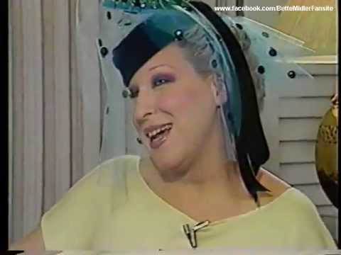 Bette Midler discussing Baby Divine