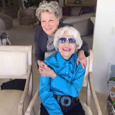 Bette Midler Carol Channing