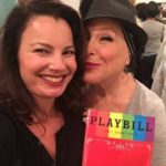 "Photo: Bette Midler and Fran Drescher (The Nanny) Backstage at ""Hello Dolly"""