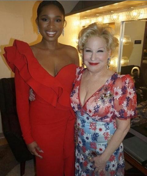 Jennifer Hudson Fangirls over meeting Bette Midler