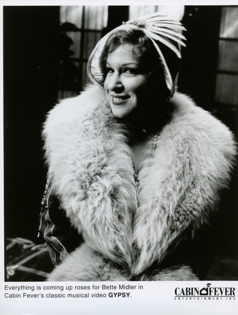 Photo: Bette Midler as Mama Rose in Gypsy