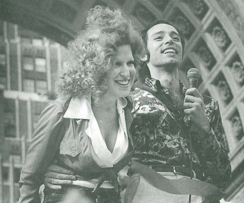 Vito Russo On The Gay Pride March 1973 With Bette Midler & Barry Manilow