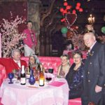 The Madonna Inn has been a popular spot for celebrities since it opened in 1958. Bette Midler and Martin Have Attended