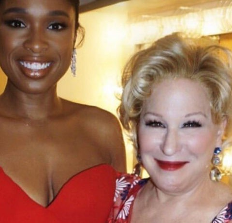 The Oscars: Jennifer Hudson and Bette Midler came prepared