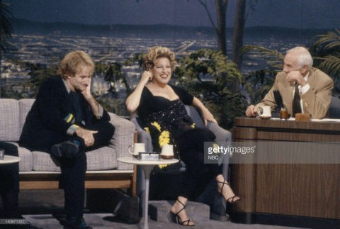 Photo: Robin Williams, Bette Midler were the last guests on Johnny Carson's The Tonight Show