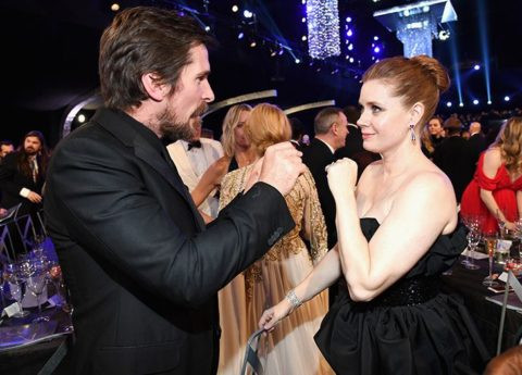 Oscars 2019: Christian Bale and Amy Adams