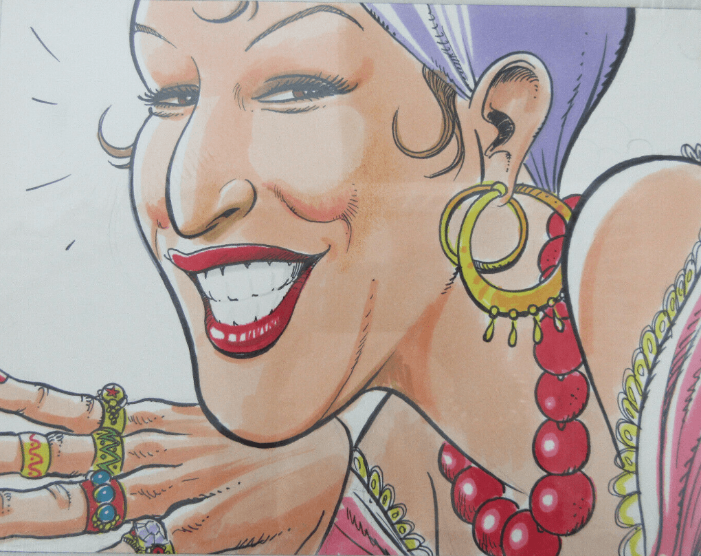 Bette Midler Tropicana Artwork