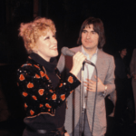Photo: Bette Midler & French Singer Serge Lama At The Palace in Paris, France 1981