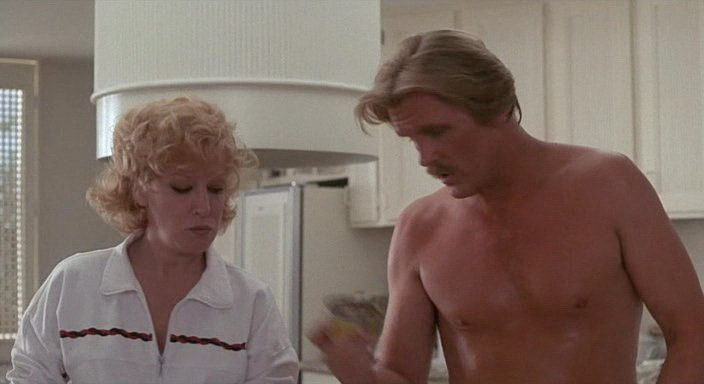 Bette Midler & Nick Nolte in Down And Out In Beverly Hills