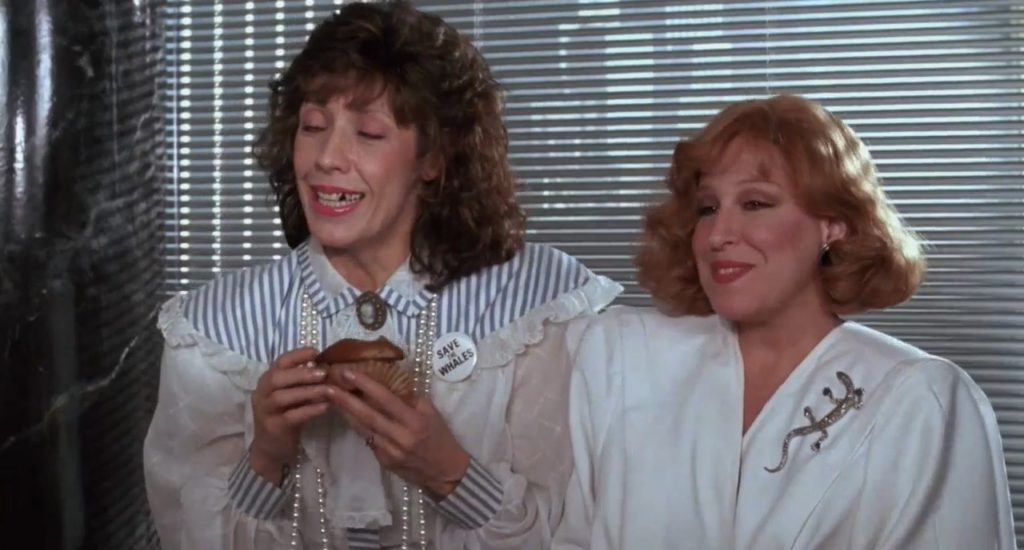 Lily Tomlin and Bette Midler in Big Business