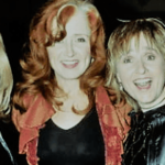 Photo: #BetteMidler, #BonnieRaitt, #MelissaEtheridge, and #PattiScialfa (Ms. Springsteen) at the14th Annual Rock and Roll Hall of Fame Induction Ceremony, 1999
