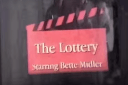The Lottery: And it's a wrap