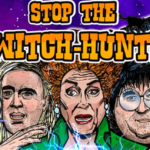 "Trump's New Merch: ""Stop the Witch Hunt Limited Edition Fine Art Poster"""