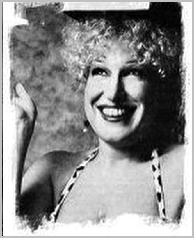 Bette Midler in Cosmo Magazine