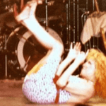 Photo: Bette Midler Does The Back Flip In Concert - 1978