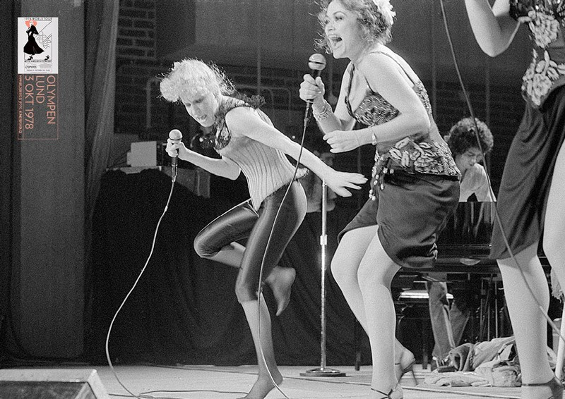 Bette Midler on World Tour 1978