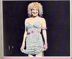 Bette Midler in her Dalmation Dress