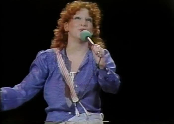 Bette Midler singing Delta Dawn