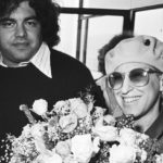 Photo: Aaron Russo & Bette Midler At Heathrow (?) Airport - Sept 17, 1978