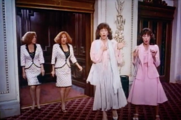 Bette Midler and Lily Tomlin play Twins in Big Business