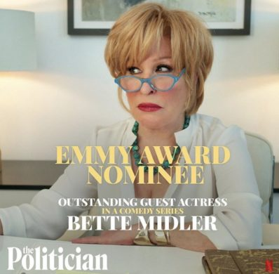 Bette Midler, The Only Actor Nominated For An Emmy For Season One Of The Politician And Her Reaction