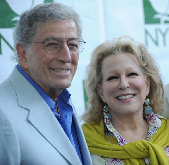 Tony Bennett and Bette Midler