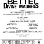 Video: Bette Midler ft Shabba-Doo - Hurricane - Divine Madness on Broadway - 1979