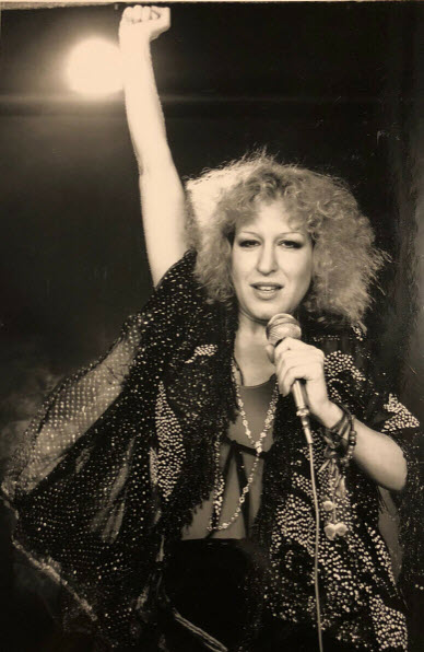 Bette Midler as The Rose