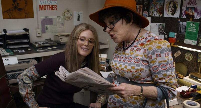 Julianne Moore & Bette Midler in The Glorias