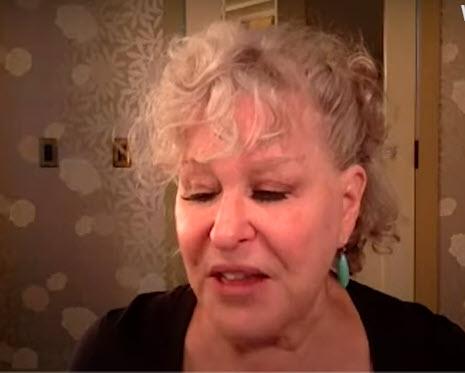 Bette Midler discussing Coastal Elites
