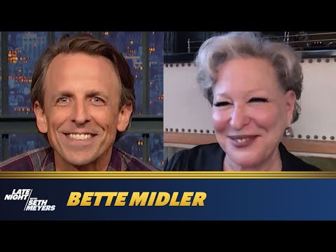 Bette Midler visits Seth Meyers