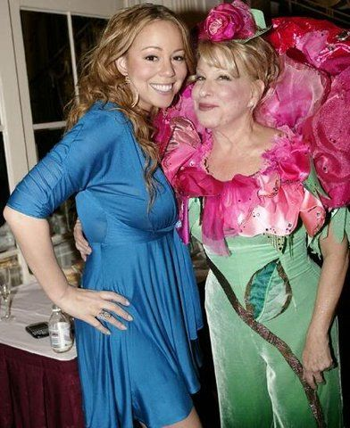 Mariah Carey and Bette Midler