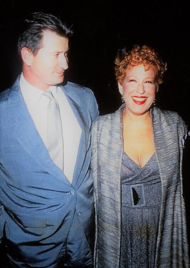 Bette Midler & Martin von Haselberg 1989