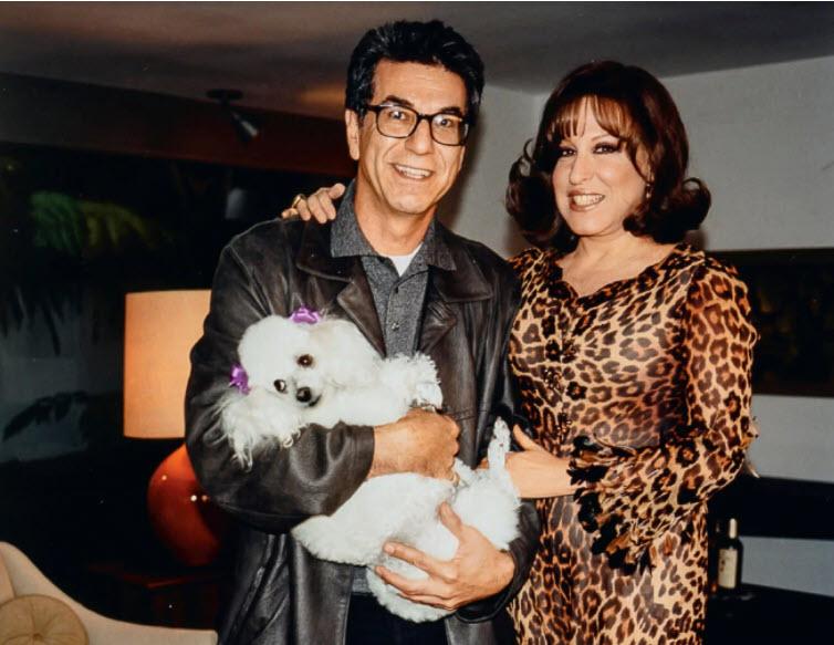 Photographer Firooz Zahedi  &  Bette Midler